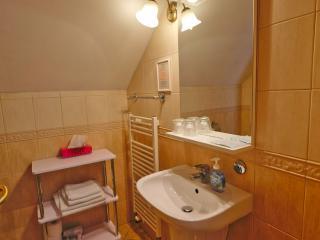 Penzión v Pezinku, kúpelňa